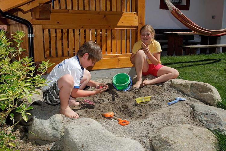 Sand pit for our little guests